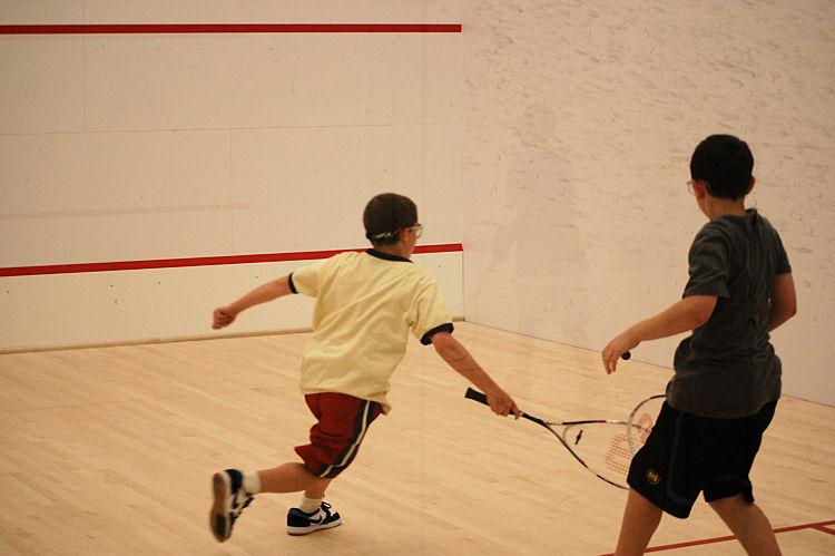 Squash at Campus Kids