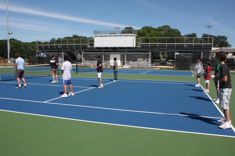 Tennis activity