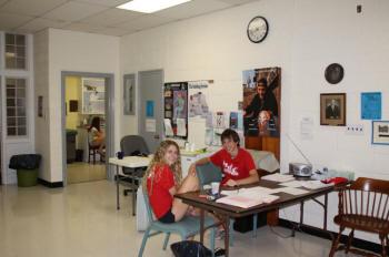 Camp Health center