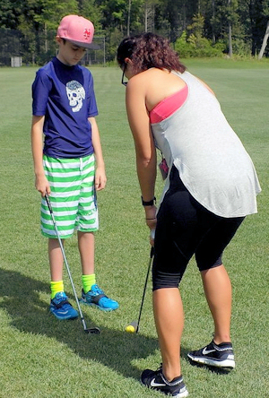 Golf camp activity