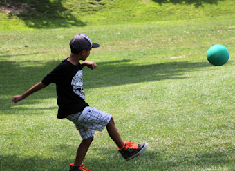 Kids kickball