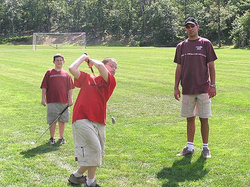 Golf Skills activity