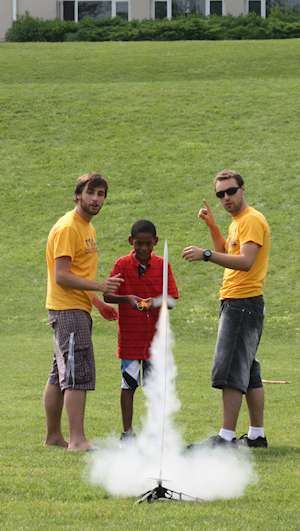 Rocketry at Campus Kids