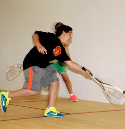 squash serve