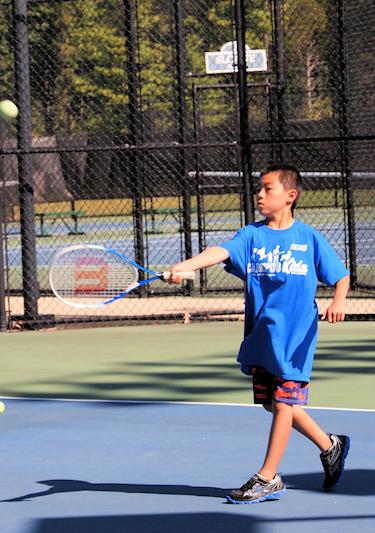 Tennis hit